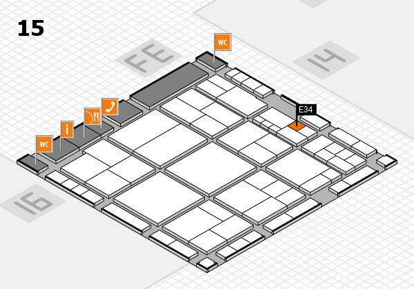 interpack 2017 hall map (Hall 15): stand E34