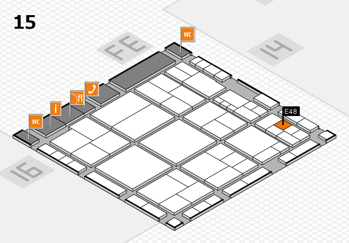 interpack 2017 hall map (Hall 15): stand E48