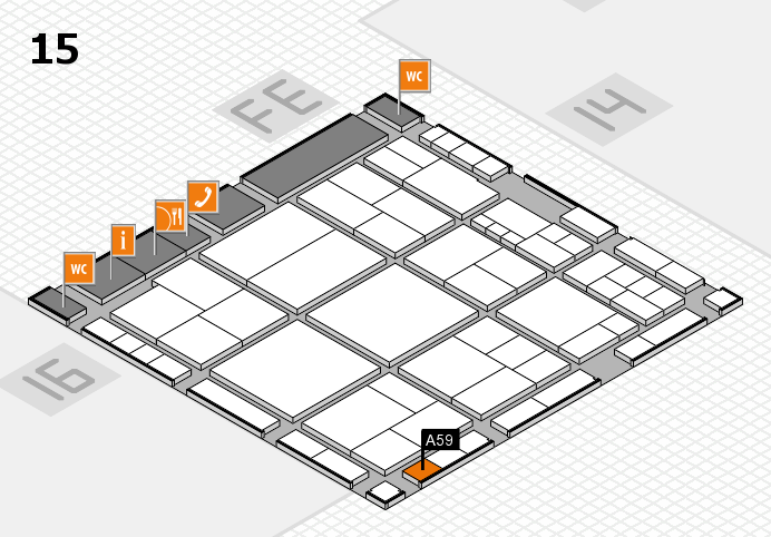 interpack 2017 hall map (Hall 15): stand A59