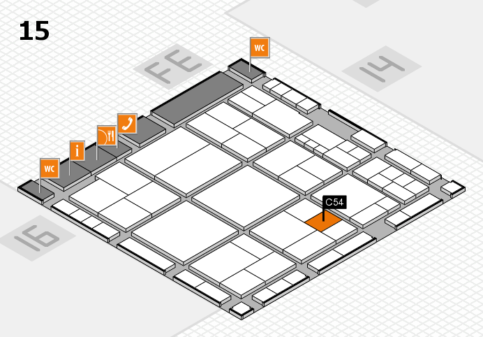 interpack 2017 hall map (Hall 15): stand C54