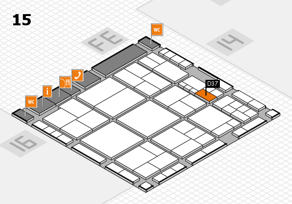 interpack 2017 hall map (Hall 15): stand D37