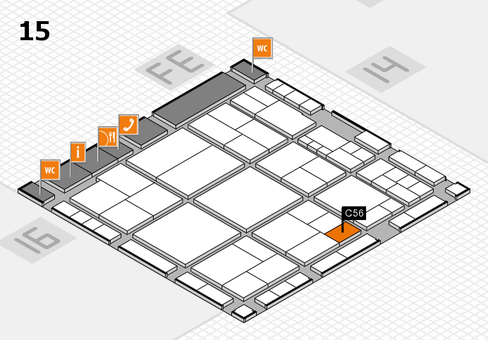 interpack 2017 hall map (Hall 15): stand C56