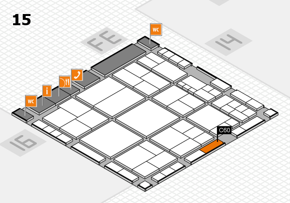 interpack 2017 hall map (Hall 15): stand C60