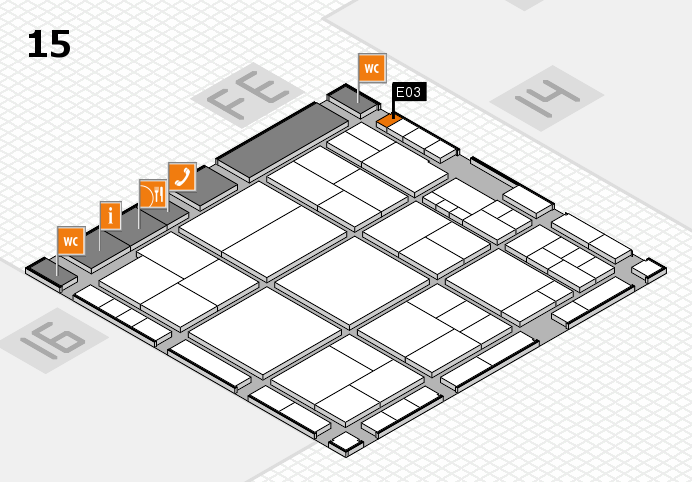 interpack 2017 hall map (Hall 15): stand E03