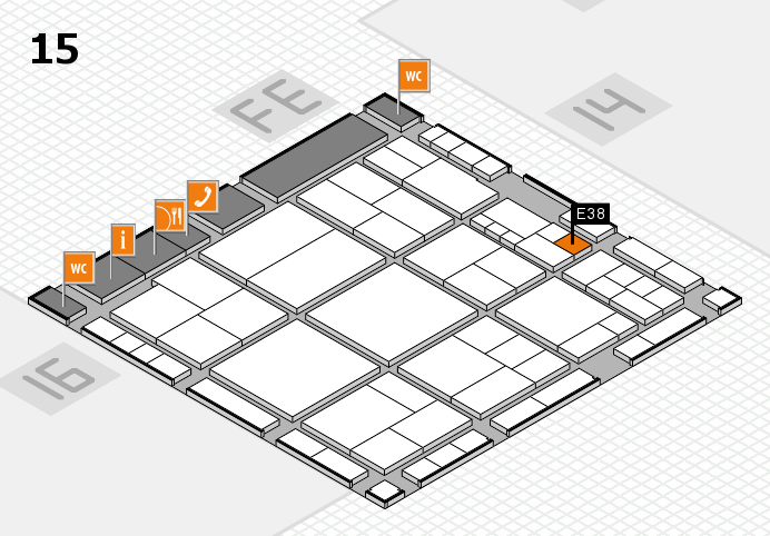 interpack 2017 hall map (Hall 15): stand E38