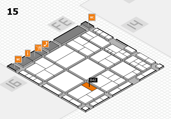 interpack 2017 hall map (Hall 15): stand B42