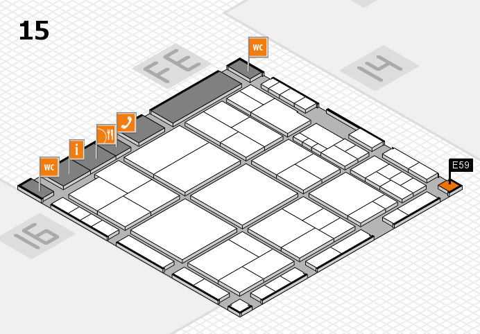 interpack 2017 hall map (Hall 15): stand E59