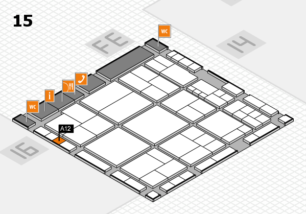 interpack 2017 hall map (Hall 15): stand A12