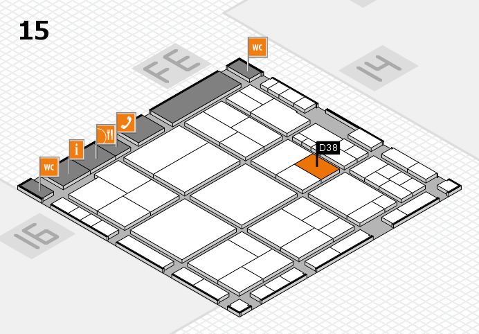 interpack 2017 hall map (Hall 15): stand D38