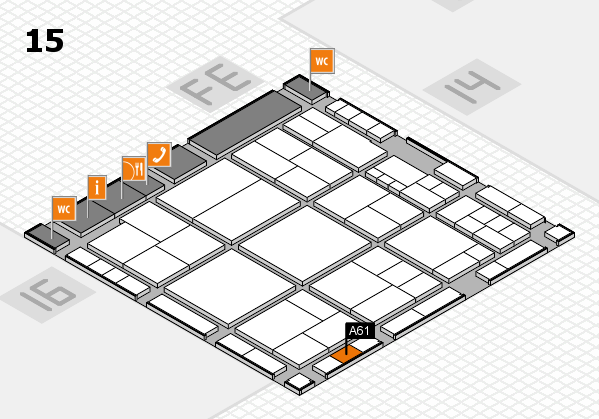 interpack 2017 hall map (Hall 15): stand A61