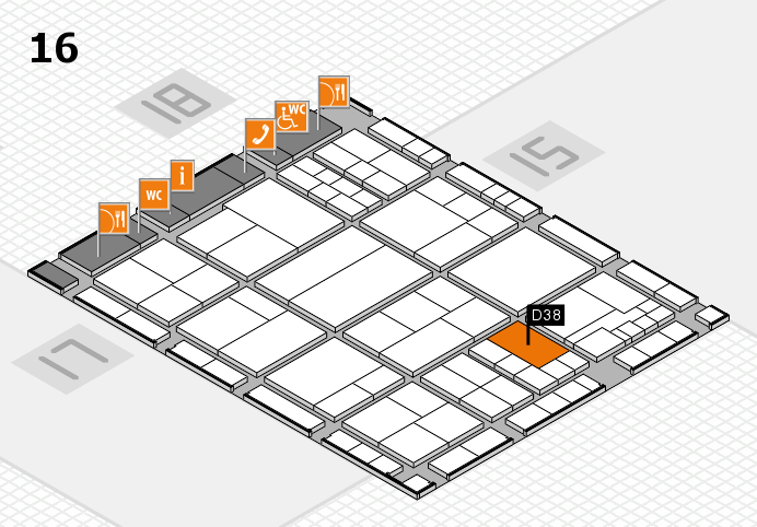 interpack 2017 hall map (Hall 16): stand D38