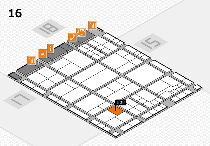 interpack 2017 hall map (Hall 16): stand B38