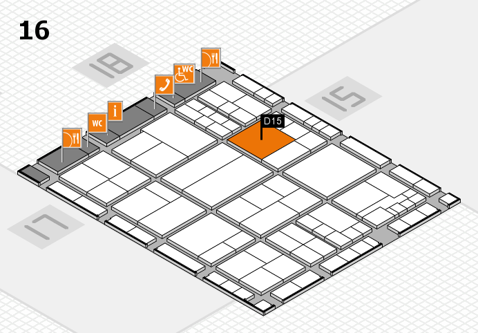 interpack 2017 hall map (Hall 16): stand D15