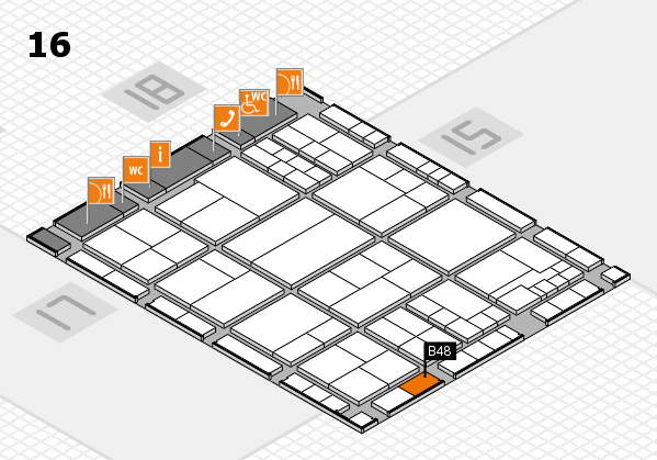 interpack 2017 hall map (Hall 16): stand B48