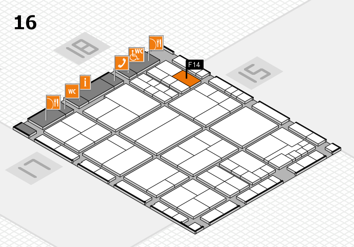 interpack 2017 hall map (Hall 16): stand F14