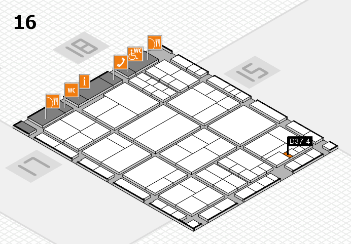 interpack 2017 hall map (Hall 16): stand D37-4