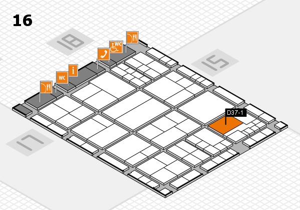 interpack 2017 hall map (Hall 16): stand D37-1