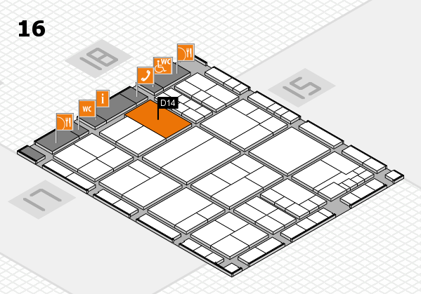 interpack 2017 hall map (Hall 16): stand D14