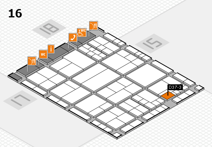 interpack 2017 hall map (Hall 16): stand D37-3