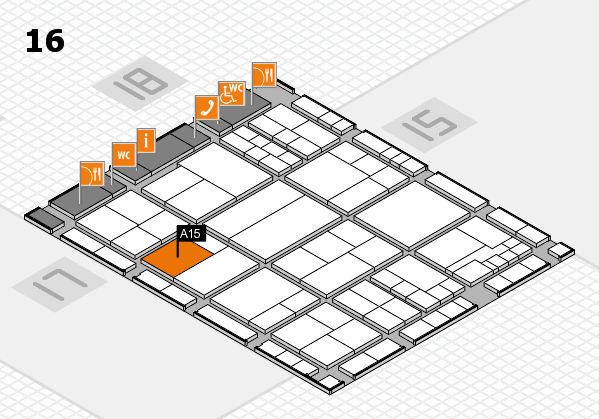 interpack 2017 hall map (Hall 16): stand A15