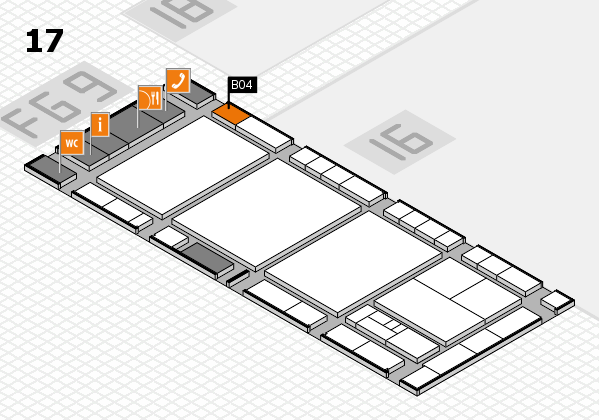 interpack 2017 hall map (Hall 17): stand B04