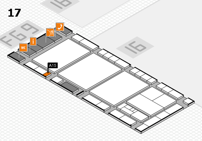 interpack 2017 hall map (Hall 17): stand A15