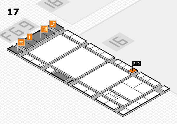 interpack 2017 hall map (Hall 17): stand B40