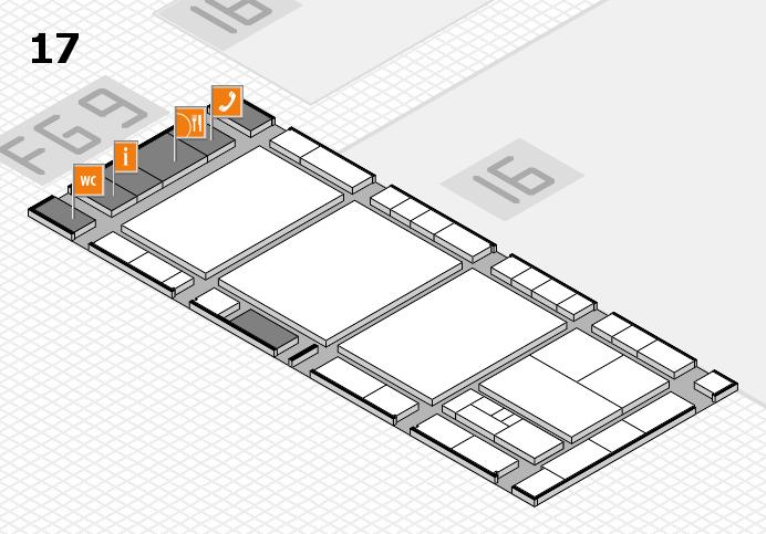 interpack 2017 Hallenplan (Halle 17): Stand B10
