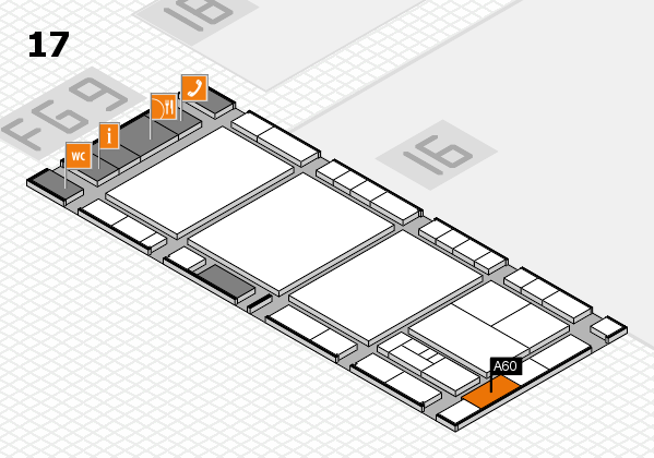 interpack 2017 hall map (Hall 17): stand A60