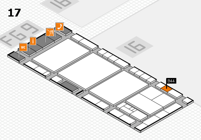 interpack 2017 hall map (Hall 17): stand B44
