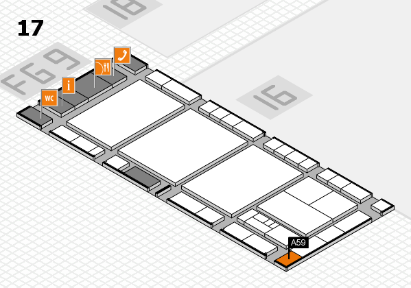interpack 2017 hall map (Hall 17): stand A59