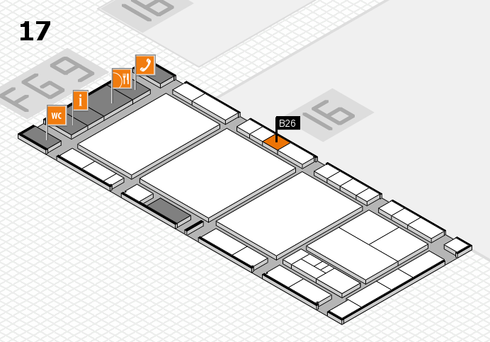 interpack 2017 hall map (Hall 17): stand B26