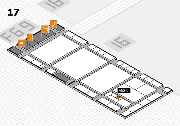 interpack 2017 hall map (Hall 17): stand A52-6