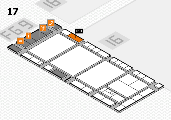 interpack 2017 hall map (Hall 17): stand B10