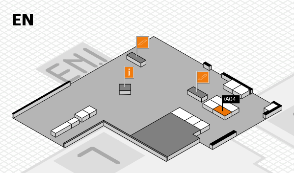 interpack 2017 hall map (North Entrance): stand .A04