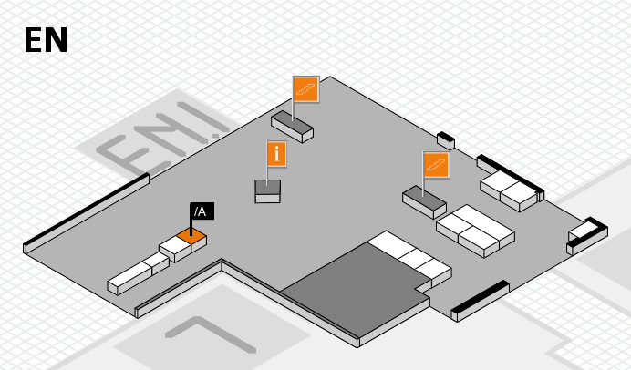 interpack 2017 hall map (North Entrance): stand .A
