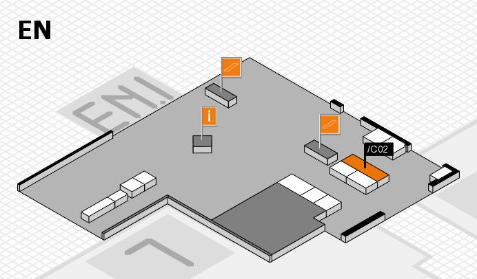 interpack 2017 Hallenplan (Eingang Nord): Stand .C02