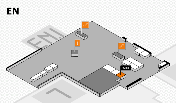 interpack 2017 Hallenplan (Eingang Nord): Stand .A03