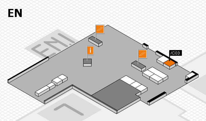 interpack 2017 hall map (North Entrance): stand .C03