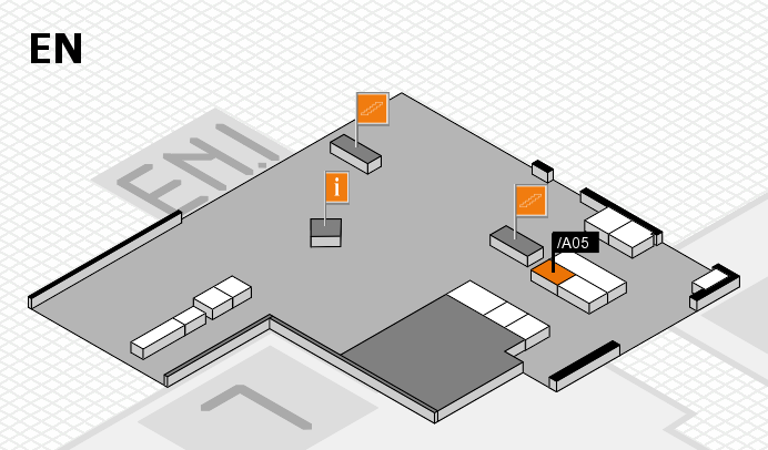 interpack 2017 hall map (North Entrance): stand .A05