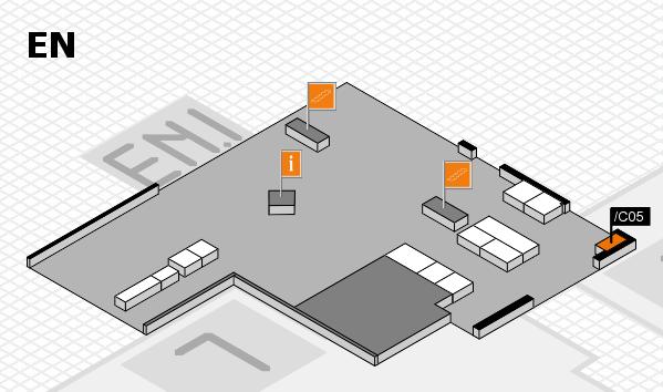 interpack 2017 Hallenplan (Eingang Nord): Stand .C05