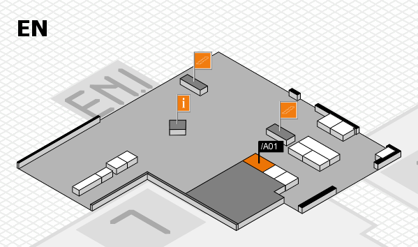 interpack 2017 hall map (North Entrance): stand .A01