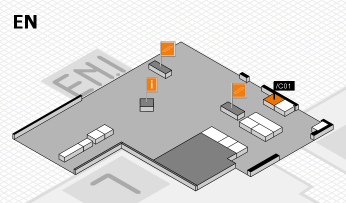 interpack 2017 hall map (North Entrance): stand .C01