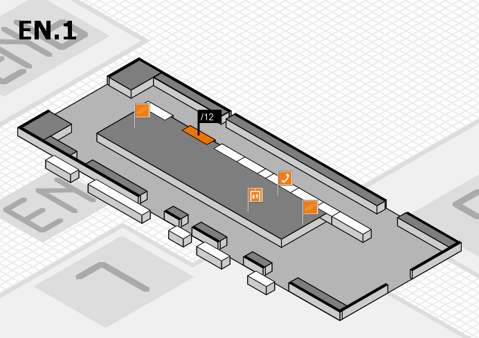 interpack 2017 hall map (North Entrance 1): stand .12