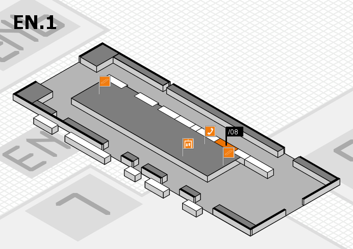 interpack 2017 hall map (North Entrance 1): stand .08