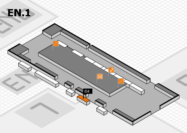 interpack 2017 hall map (North Entrance 1): stand .04
