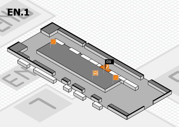 interpack 2017 hall map (North Entrance 1): stand .09