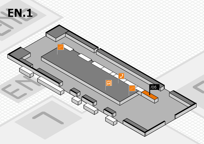 interpack 2017 hall map (North Entrance 1): stand .06