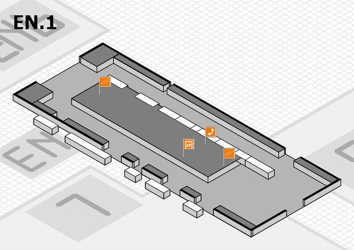 interpack 2017 Hallenplan (Eingang Nord 1): Stand .13