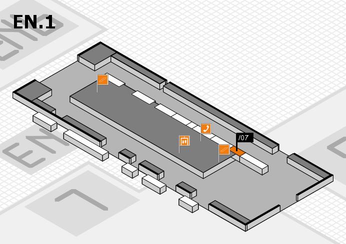interpack 2017 Hallenplan (Eingang Nord 1): Stand .07